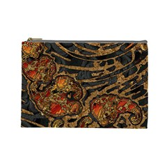 Unique Abstract Mix 1a Cosmetic Bag (Large)