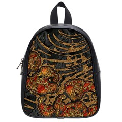 Unique Abstract Mix 1a School Bags (Small)