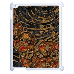 Unique Abstract Mix 1a Apple Ipad 2 Case (white)