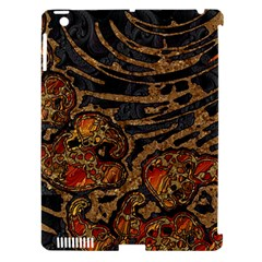 Unique Abstract Mix 1a Apple iPad 3/4 Hardshell Case (Compatible with Smart Cover)