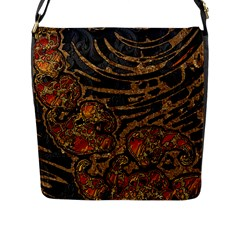 Unique Abstract Mix 1a Flap Messenger Bag (l)
