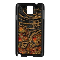 Unique Abstract Mix 1a Samsung Galaxy Note 3 N9005 Case (Black)