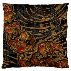 Unique Abstract Mix 1a Standard Flano Cushion Case (Two Sides)