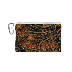 Unique Abstract Mix 1a Canvas Cosmetic Bag (S)