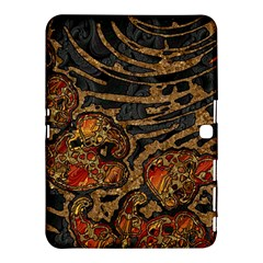 Unique Abstract Mix 1a Samsung Galaxy Tab 4 (10.1 ) Hardshell Case