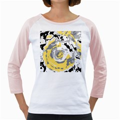 Abstract art Girly Raglans