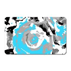Abstract art Magnet (Rectangular)