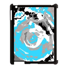 Abstract art Apple iPad 3/4 Case (Black)