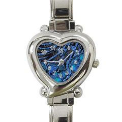 Unique Abstract Mix 1b Heart Italian Charm Watch