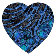 Unique Abstract Mix 1b Jigsaw Puzzle (Heart)