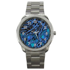 Unique Abstract Mix 1b Sport Metal Watch