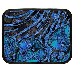 Unique Abstract Mix 1b Netbook Case (Large)
