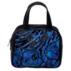 Unique Abstract Mix 1b Classic Handbags (One Side)