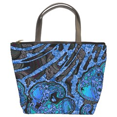 Unique Abstract Mix 1b Bucket Bags