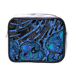 Unique Abstract Mix 1b Mini Toiletries Bags