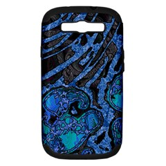 Unique Abstract Mix 1b Samsung Galaxy S III Hardshell Case (PC+Silicone)