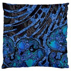 Unique Abstract Mix 1b Standard Flano Cushion Case (One Side)