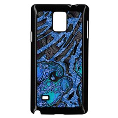 Unique Abstract Mix 1b Samsung Galaxy Note 4 Case (Black)