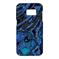 Unique Abstract Mix 1b Samsung Galaxy S7 Hardshell Case