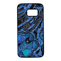 Unique Abstract Mix 1b Samsung Galaxy S7 Black Seamless Case