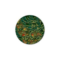 Unique Abstract Mix 1c Golf Ball Marker (4 pack)