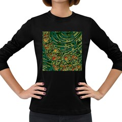 Unique Abstract Mix 1c Women s Long Sleeve Dark T-Shirts