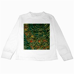 Unique Abstract Mix 1c Kids Long Sleeve T-Shirts