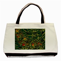 Unique Abstract Mix 1c Basic Tote Bag (Two Sides)