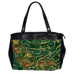 Unique Abstract Mix 1c Office Handbags (2 Sides)