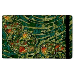 Unique Abstract Mix 1c Apple iPad 2 Flip Case
