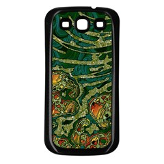 Unique Abstract Mix 1c Samsung Galaxy S3 Back Case (Black)