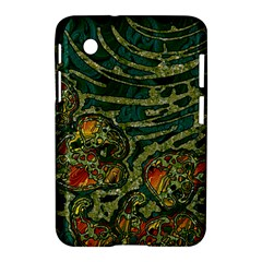Unique Abstract Mix 1c Samsung Galaxy Tab 2 (7 ) P3100 Hardshell Case