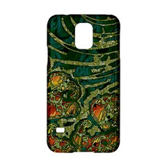 Unique Abstract Mix 1c Samsung Galaxy S5 Hardshell Case