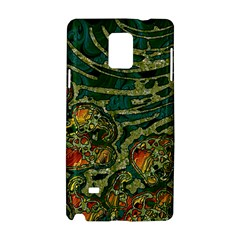 Unique Abstract Mix 1c Samsung Galaxy Note 4 Hardshell Case