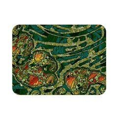 Unique Abstract Mix 1c Double Sided Flano Blanket (Mini)