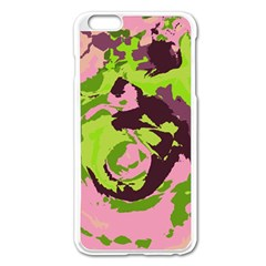 Abstract art Apple iPhone 6 Plus/6S Plus Enamel White Case