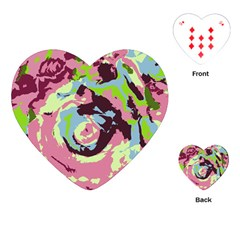 Abstract art Playing Cards (Heart)
