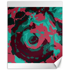 Abstract art Canvas 11  x 14