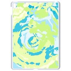 Abstract Art Apple Ipad Pro 9 7   White Seamless Case