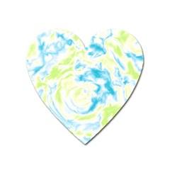 Abstract art Heart Magnet