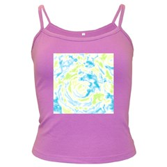 Abstract art Dark Spaghetti Tank