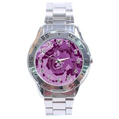 Abstract art Stainless Steel Analogue Watch