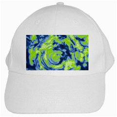 Abstract art White Cap