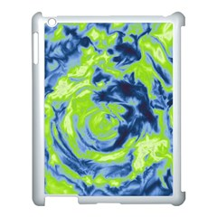 Abstract art Apple iPad 3/4 Case (White)