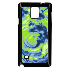 Abstract art Samsung Galaxy Note 4 Case (Black)