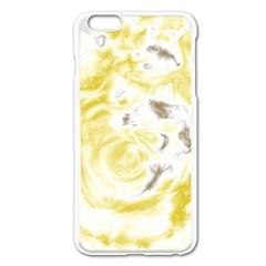 Abstract art Apple iPhone 6 Plus/6S Plus Enamel White Case