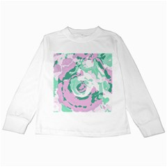 Abstract art Kids Long Sleeve T-Shirts
