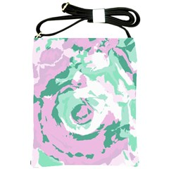 Abstract art Shoulder Sling Bags