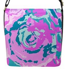 Abstract art Flap Messenger Bag (S)