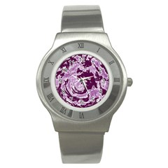 Abstract art Stainless Steel Watch